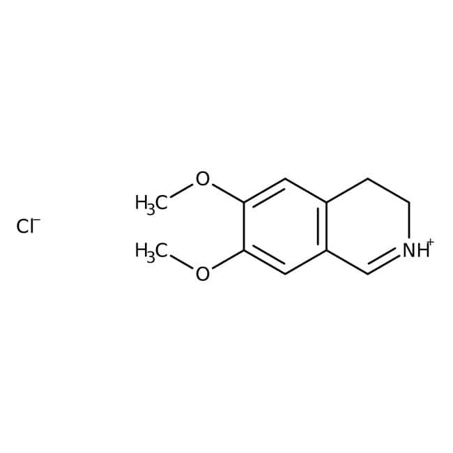 6,7-Dimethoxy-3,4-dihydroisoquinoline hydrochloride hydrate, 99+%, ACROS Organics™