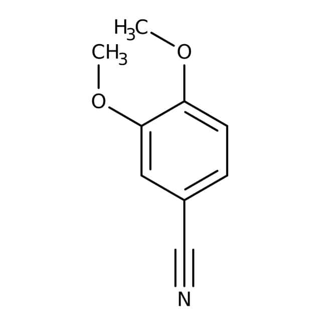Alfa Aesar™3,4-Dimethoxybenzonitrile, 98+% 100g Alfa Aesar™3,4-Dimethoxybenzonitrile, 98+%