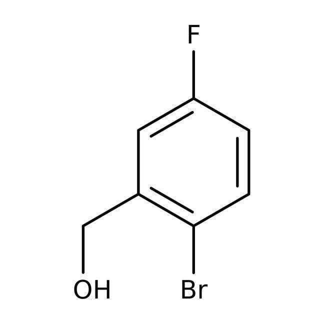 Alfa Aesar™2-Bromo-5-fluorobenzyl alcohol, 97% 5g Alfa Aesar™2-Bromo-5-fluorobenzyl alcohol, 97%