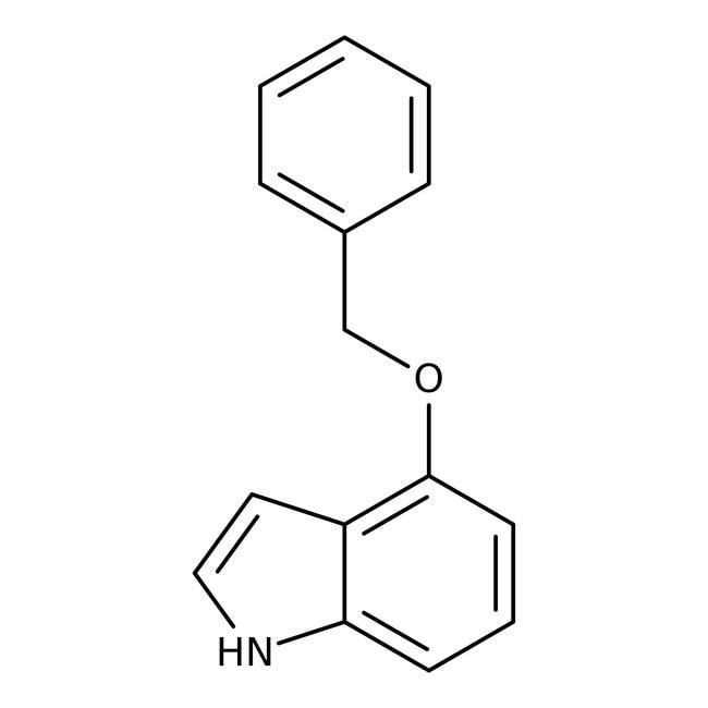Alfa Aesar™4-Benzyloxyindol, 99% 1g Alfa Aesar™4-Benzyloxyindol, 99%