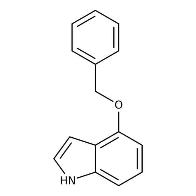 Alfa Aesar™4-Benzyloxyindol, 99%: Ethers Organooxygen compounds