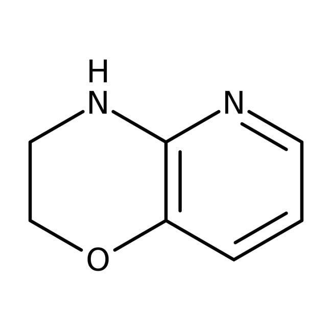 3,4-Dihydro-2H-pyrido[3,2-b][1,4]oxazine, 97%, Maybridge™ Amber Glass Bottle; 1g 3,4-Dihydro-2H-pyrido[3,2-b][1,4]oxazine, 97%, Maybridge™