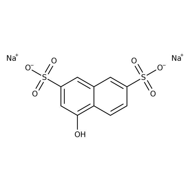 1-Naphthol-3,6-disulfonic Acid, Disodium Salt (Tech.), ACROS Organics