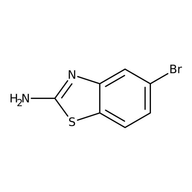 Alfa Aesar™2-Amino-5-bromobenzothiazole, 97% 25g Alfa Aesar™2-Amino-5-bromobenzothiazole, 97%