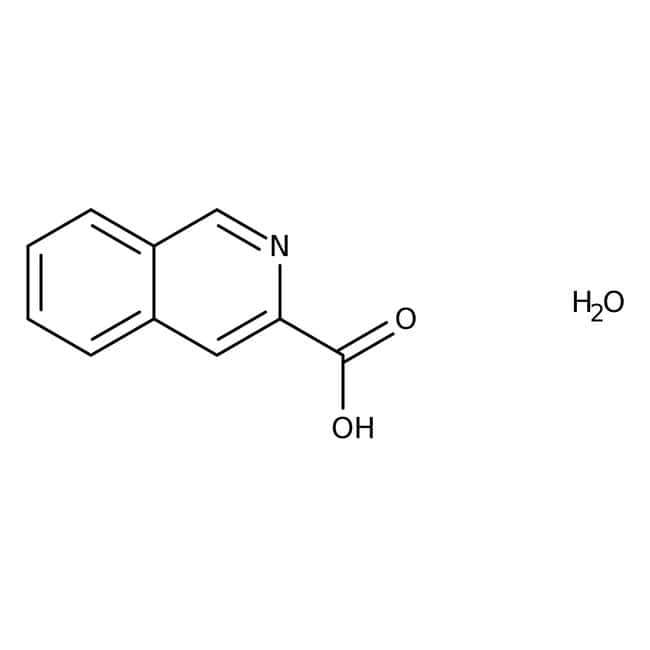 Isoquinoline-3-carboxylic acid hydrate, 97%, Maybridge™
