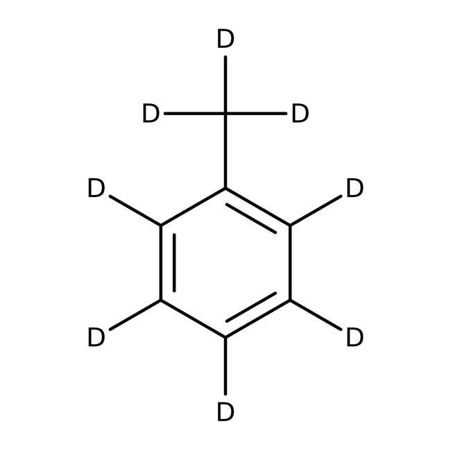 Toluene-d8, for NMR, 99.5% atom D, with 0.03% TMS, ACROS Organics
