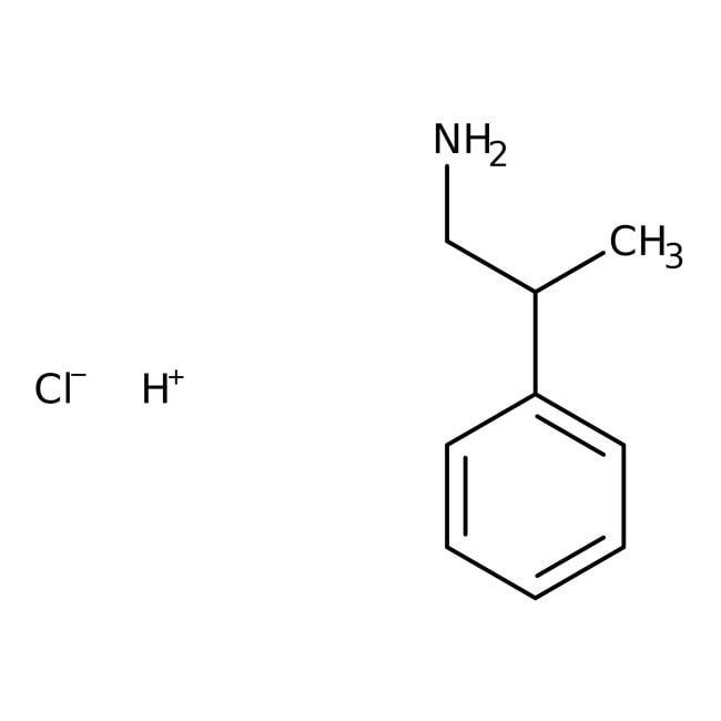 Alfa Aesar™2-Phenylpropylamine hydrochloride, ≥98% 5g Alfa Aesar™2-Phenylpropylamine hydrochloride, ≥98%