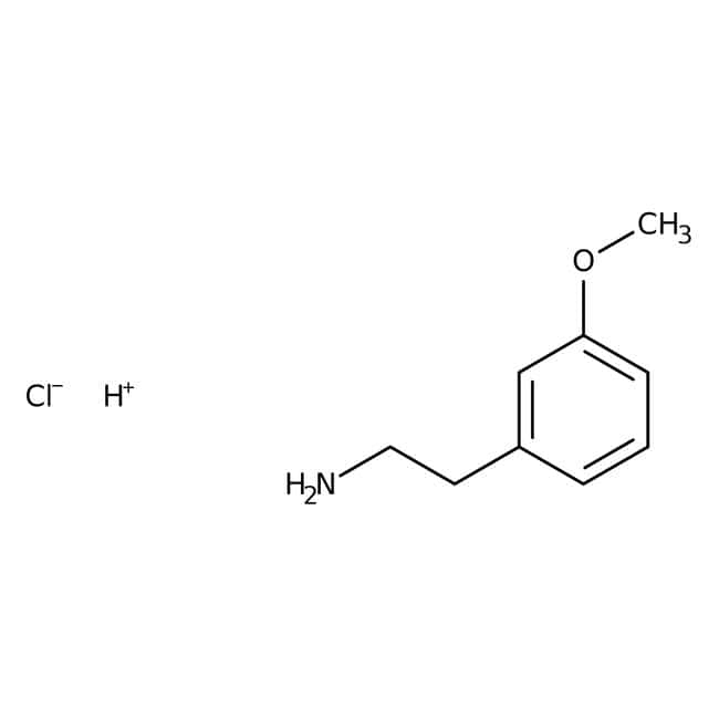 Alfa Aesar™ 2-(3-Methoxyphenyl)ethylamine, ≥97% 5g Alfa Aesar™ 2-(3-Methoxyphenyl)ethylamine, ≥97%