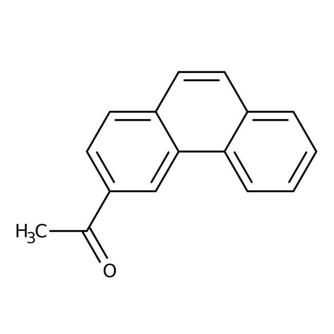3-Acetylphenanthrene, 97%, ACROS Organics™ 5g; Glass bottle 3-Acetylphenanthrene, 97%, ACROS Organics™