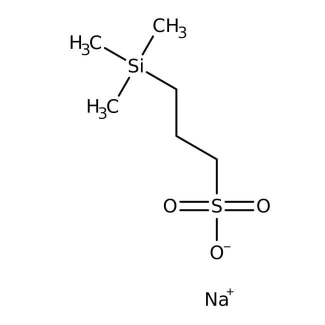 3-(Trimethylsilyl)-1-propanesulfonic acid, sodium salt hydrate, 99+%, ACROS Organics