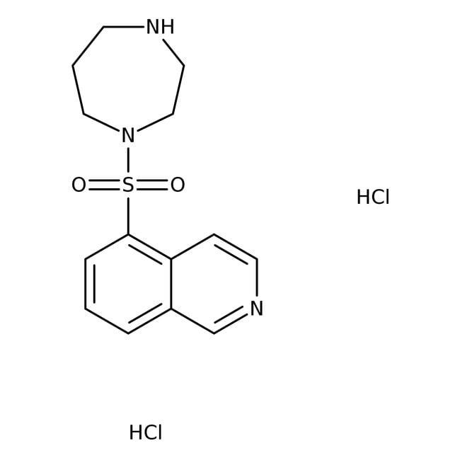Alfa Aesar™Fasudil dihydrochloride, 99+% 1g Alfa Aesar™Fasudil dihydrochloride, 99+%