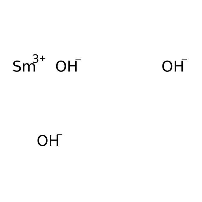 Alfa Aesar™Samarium(III) hydroxide hydrate, 99% (REO)