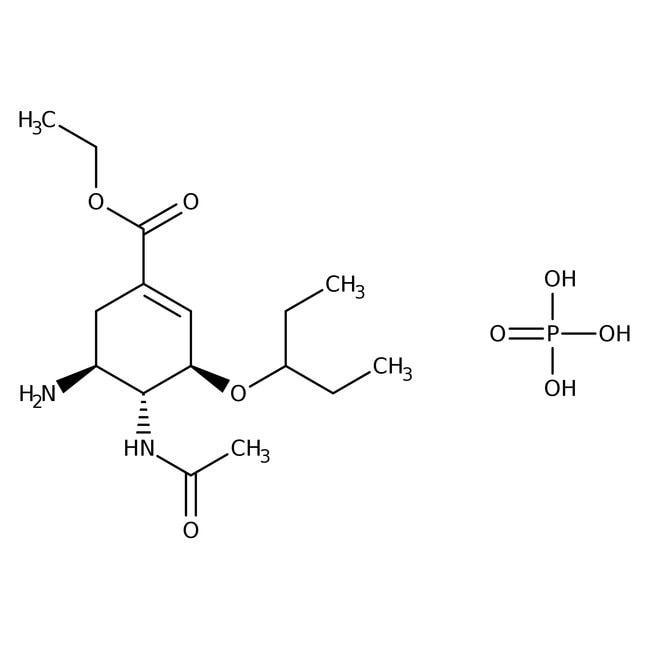 Oseltamivir phosphate, 98%, Acros Organics