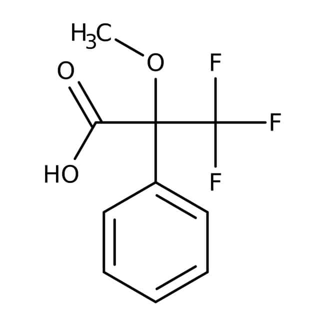 (R)-(+)-alpha-Methoxy-alpha-(trifluoromethyl)phenylacetic acid, 99%(e.e.>99.5%), ACROS Organics™