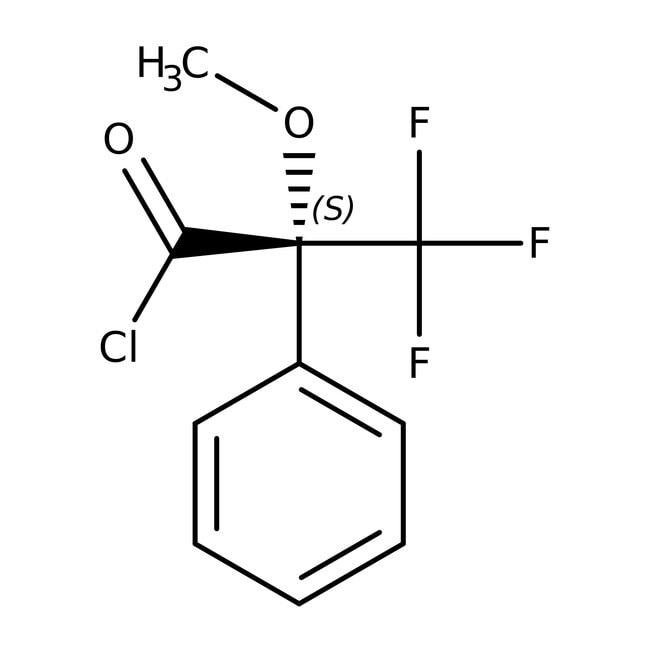 (S)-(+)-α-Methoxy-α-(trifluoromethyl)phenylacetyl chloride, 99%, ACROS Organics™
