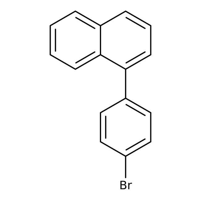 Alfa Aesar™1-(4-Bromophenyl)naphthalene, 98% 1g Alfa Aesar™1-(4-Bromophenyl)naphthalene, 98%