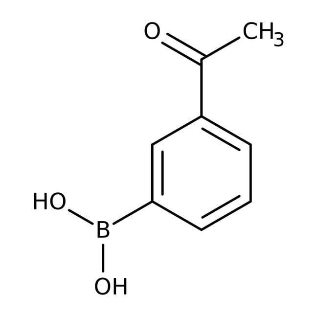 3-Acetylphenylboronic acid, 96%, ACROS Organics™
