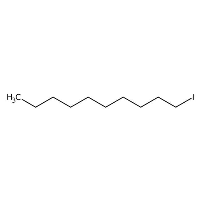 1-Iododecane (stabilized with Copper chip) 96.0+%, TCI America™