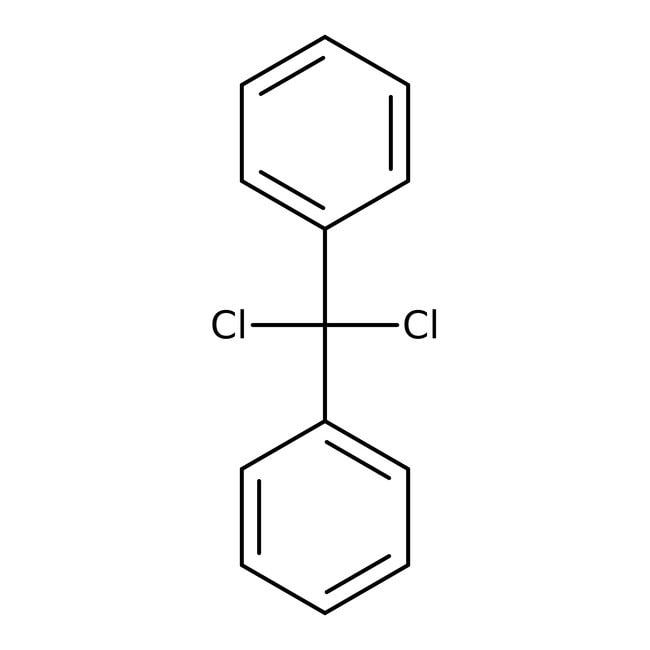 Dichlordiphenylmethan, 97%, Acros Organics™ Glasflasche; 50ml Dichlordiphenylmethan, 97%, Acros Organics™
