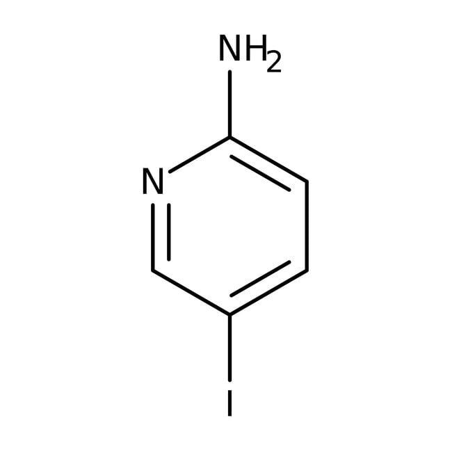 Alfa Aesar™2-Amino-5-yodopiridina, 97 % 5g Alfa Aesar™2-Amino-5-yodopiridina, 97 %
