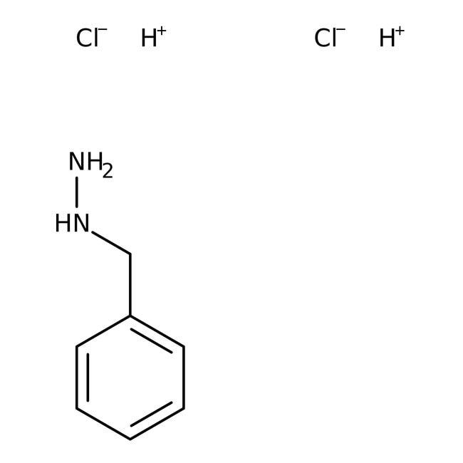 Alfa Aesar™Benzylhydrazine dihydrochloride, 97%