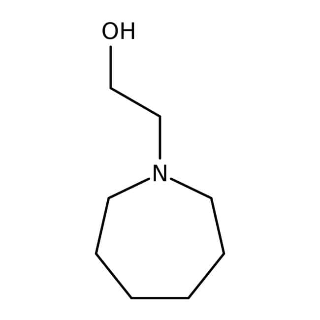 Alfa Aesar™N-(2-hydroxyéthyle)hexaméthylèneimine, 95% 5g Alfa Aesar™N-(2-hydroxyéthyle)hexaméthylèneimine, 95%