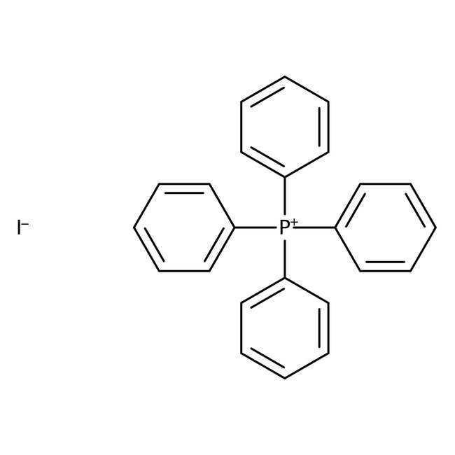 Alfa Aesar™Tetraphenylphosphonium iodide, 98+% 5g Alfa Aesar™Tetraphenylphosphonium iodide, 98+%