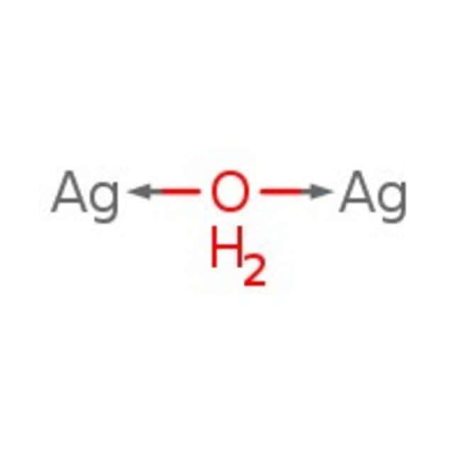 Silver(I) oxide, >99% (metals basis) , Alfa Aesar™ 500g Silver(I) oxide, >99% (metals basis) , Alfa Aesar™