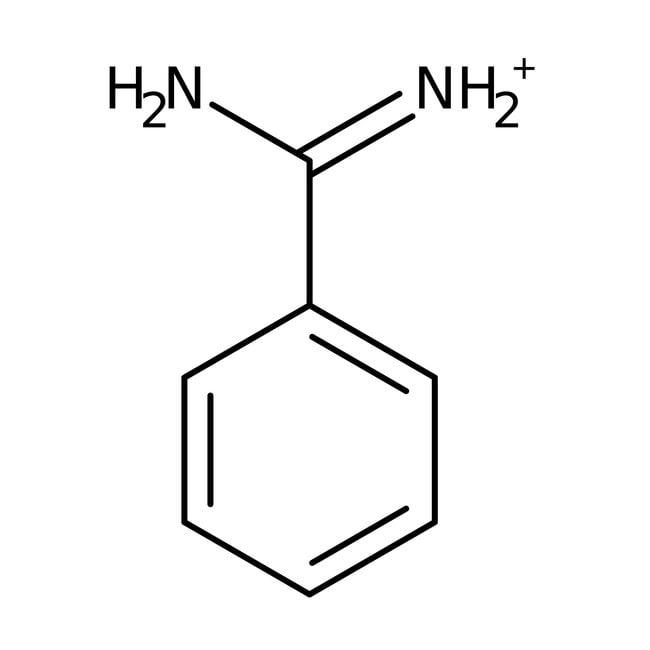 Hydrate de chlorhydrate de benzamidine, 98%, ACROSOrganics™ 25g ; flacon en plastique Hydrate de chlorhydrate de benzamidine, 98%, ACROSOrganics™