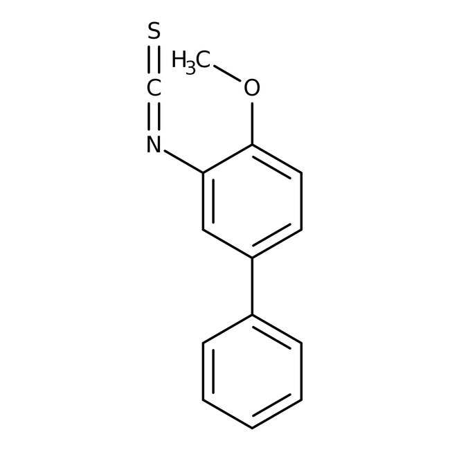 Alfa Aesar™2-Methoxybiphenyl 3-isothiocyanate, 97% 5g Alfa Aesar™2-Methoxybiphenyl 3-isothiocyanate, 97%