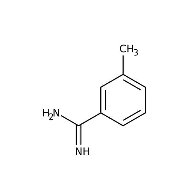 3-Methylbenzenecarboximidamide hydrochloride, 95%, Maybridge™ Amber Glass Bottle; 10g 3-Methylbenzenecarboximidamide hydrochloride, 95%, Maybridge™
