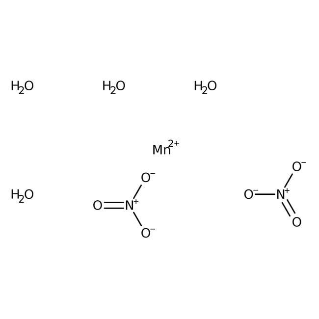 Manganese(II) nitrate tetrahydrate, for analysis, ACROS Organics