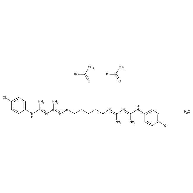 Chlorhexidine diacetate hydrate, 98%, ACROS Organics™