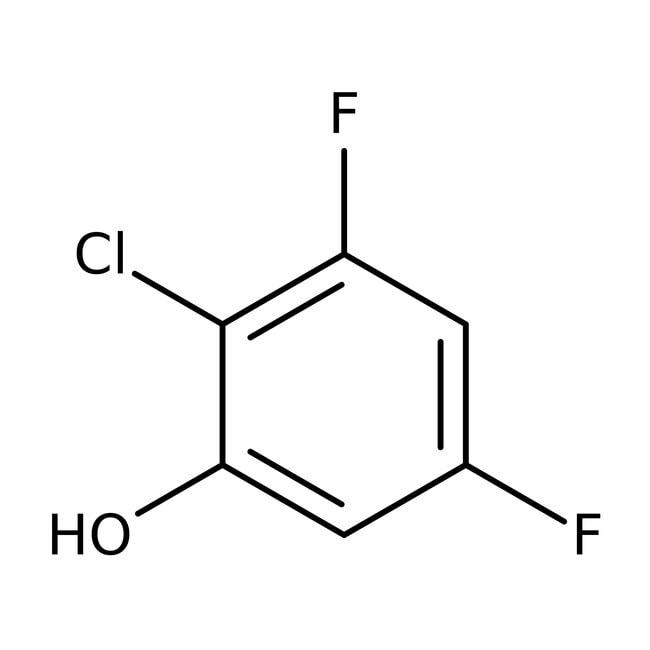 2-Chloro-3,5-difluorophenol, 98%, ACROS Organics™