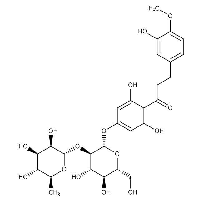Alfa Aesar™Neohesperidindihydrochalkonhydrat, ≥ 98 % 25g Alfa Aesar™Neohesperidindihydrochalkonhydrat, ≥ 98 %