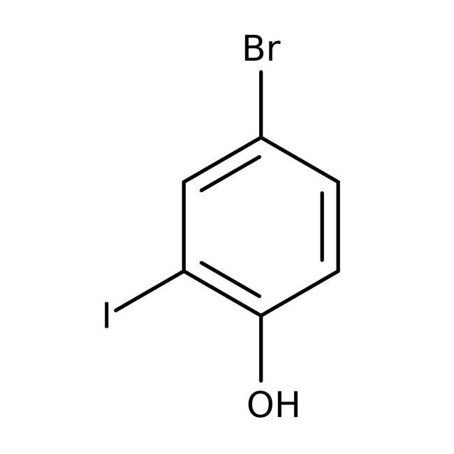 4-Bromo-2-iodophenol 98.0 %, TCI America