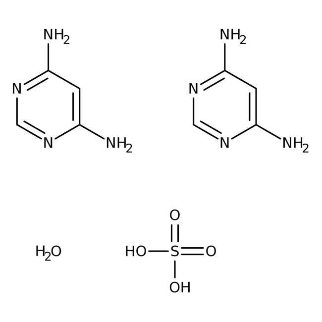 4,6-Diaminopyrimidine Hemisulfate, Monohydrate 98%, ACROS Organics™