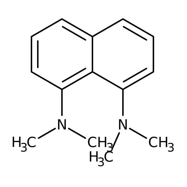 Alfa Aesar™1,8-Bis(dimethylamino)naphthalene, 98+%