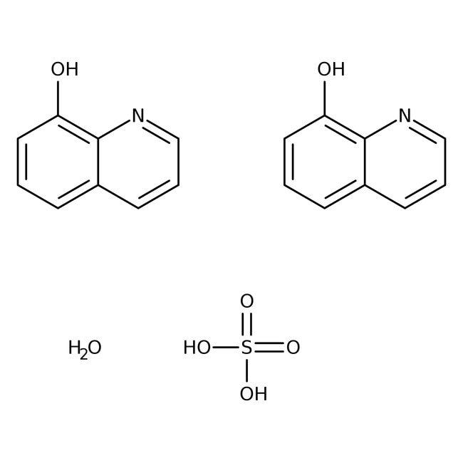 Alfa Aesar™8-Hydroxyquinoline sulfate monohydrate, 99%