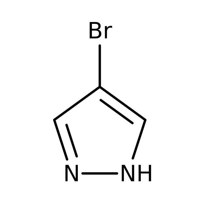 Alfa Aesar™4-Bromo-1H-pyrazole, ≥98% 1kg Alfa Aesar™4-Bromo-1H-pyrazole, ≥98%