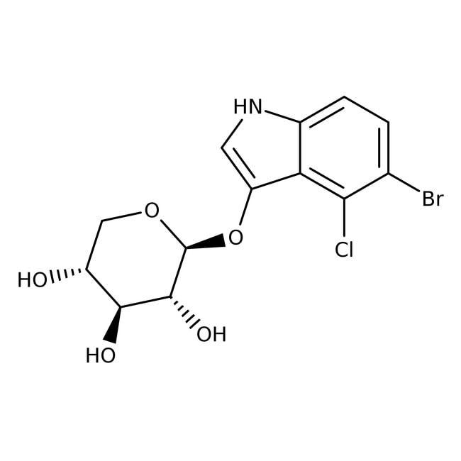 5-Bromo-4-chloro-3-indoxyl- -D-xylopyranoside, 99%, Acros Organics