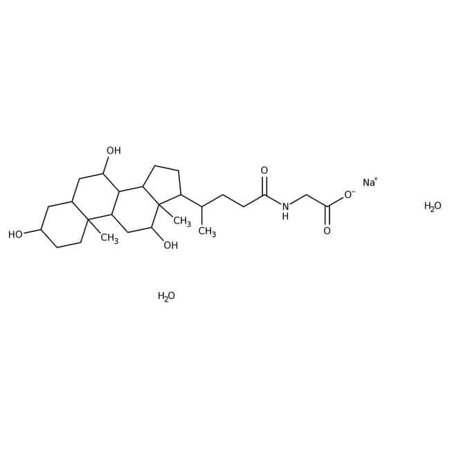Sodium glycocholate hydrate, 98%, ACROS Organics