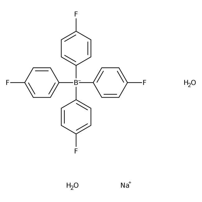 Alfa Aesar™Sodium tetrakis(4-fluorophenyl)borate dihydrate, 98%