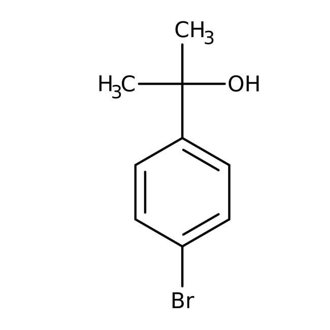 Alfa Aesar™2-(4-Bromophenyl)-2-propanol, 98%