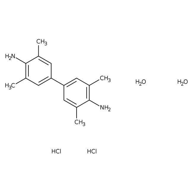 3,3',5,5'-Tetramethylbenzidine dihydrochloride hydrate, 98+%, ACROS Organics™ 5g Application Specific Acetone