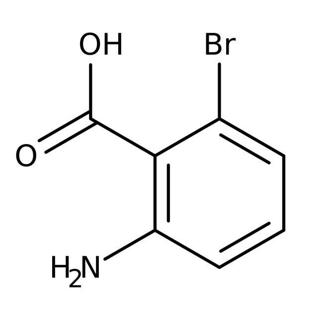 Alfa Aesar™Acide 2-amino-6-bromobenzoïque, 98% 5g Alfa Aesar™Acide 2-amino-6-bromobenzoïque, 98%