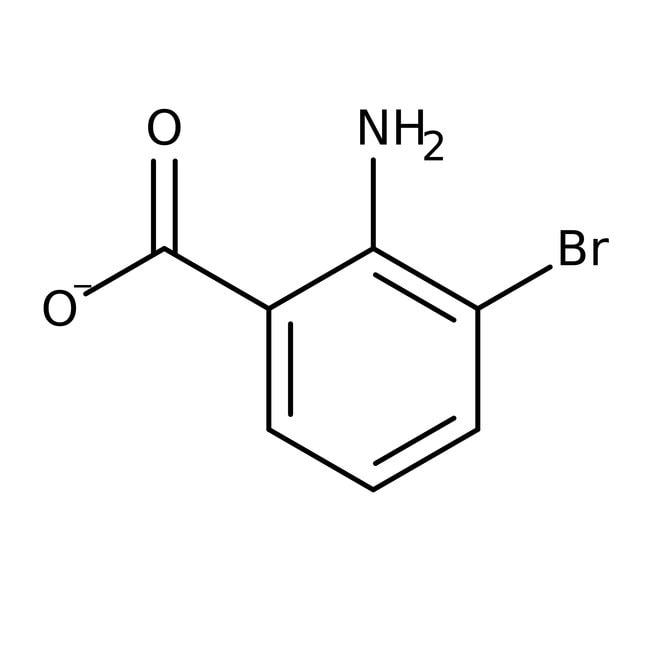 Alfa Aesar™2-Amino-3-bromobenzoic acid, 97% 1g Alfa Aesar™2-Amino-3-bromobenzoic acid, 97%