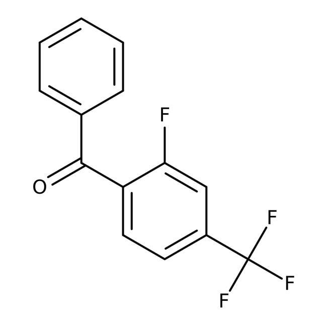 Alfa Aesar™2-Fluoro-4-(trifluoromethyl)benzophenone, 97%: Benzene and substituted derivatives Benzenoids