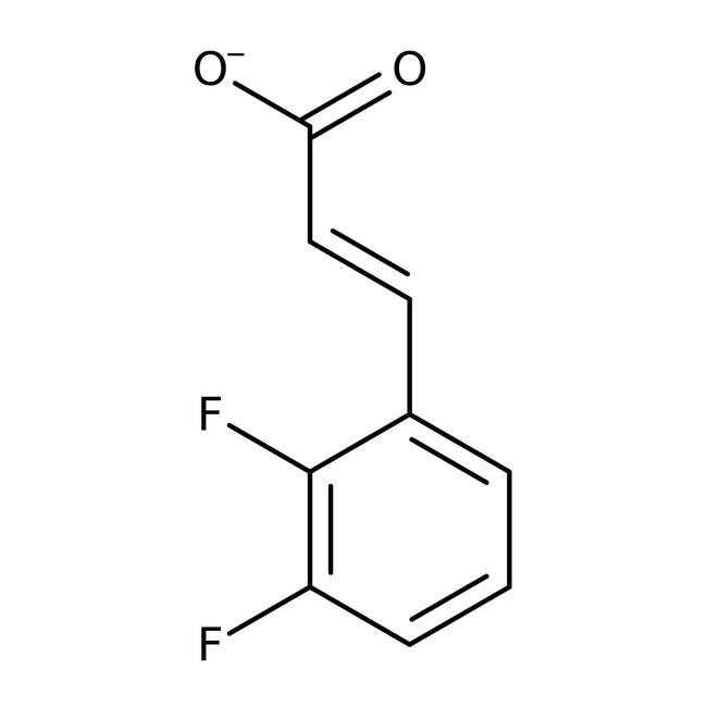 Alfa Aesar™Ácido 2,3-difluorocinámico, 98% 1g Alfa Aesar™Ácido 2,3-difluorocinámico, 98%