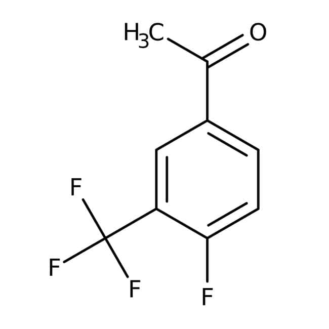 Alfa Aesar™4'-Fluoro-3'-(trifluoromethyl)acetophenone, 97% 5g Alfa Aesar™4'-Fluoro-3'-(trifluoromethyl)acetophenone, 97%